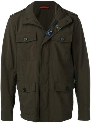 Fay long-sleeve fitted jacket