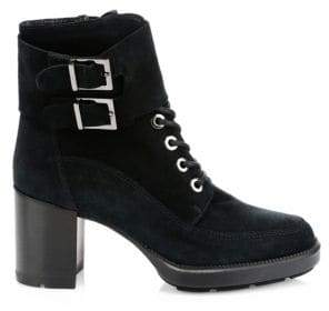 Aquatalia Irene Suede Ankle Boots
