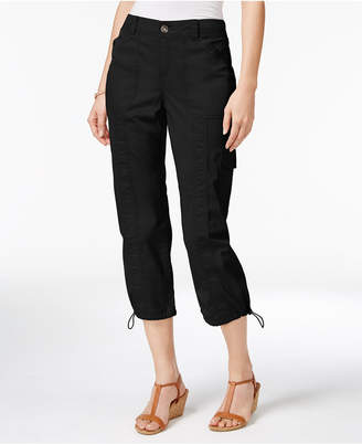 Style&Co. Style & Co Cargo Capri Pants in Regular & Petite Sizes, Created for Macy's