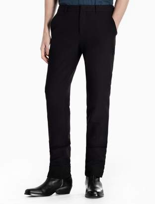 Calvin Klein slim fit viscose stretch woven pants
