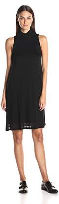 Kensie Women's Sheer Viscose Tee Dress $13.62 thestylecure.com