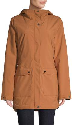 Columbia Here There Insulated Hooded Trench Jacket