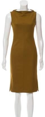 Diane von Furstenberg Wool Bateau Neck Dress