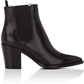 Gianvito Rossi Women's Romney Leather Chelsea Boots - Black