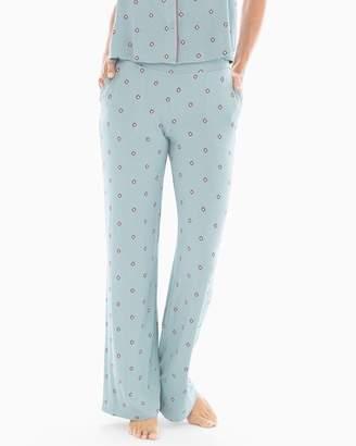 Cool Nights Pajama Pants Novel Dot Slated