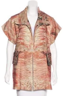 Joy Cioci Wool Printed Coat