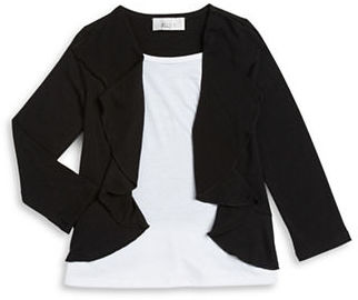 Ally B Girls 2-6x Ruffled Layer Top $26 thestylecure.com