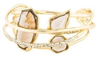 Alexis Bittar Crystal & Glass Cuff