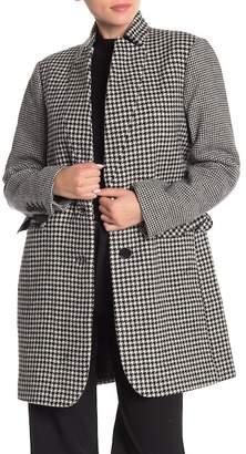 BCBGeneration Houndstooth Blazer Coat