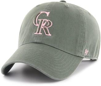 '47 Adult Colorado Rockies Clean Up Hat