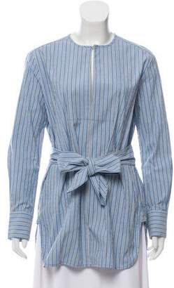 Trademark Striped Belted Tunic w/ Tags