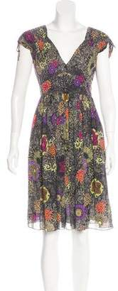 Matthew Williamson Printed Knee-Length Dress