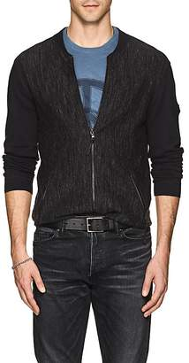 John Varvatos Men's Mélange Cotton Cardigan