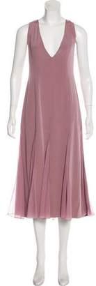 Prabal Gurung Silk Sleeveless Evening Dress