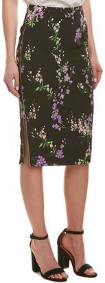 Pinko Floral Midi Skirt