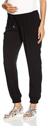 Ripe Maternity Women's Fluid Pant Maternity Trousers,(Size:X-Large)