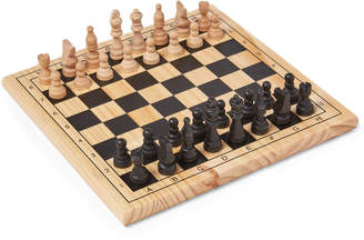 New Entertainment Solid Wood Chess Set