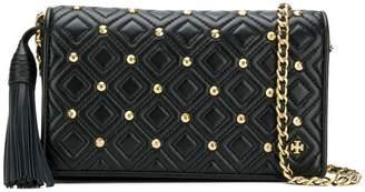 Tory Burch Fleming stud flat wallet crossbody bag