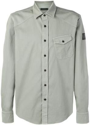 Belstaff angled pocket shirt