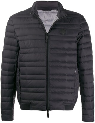 Armani Exchange quilted puffer jacket