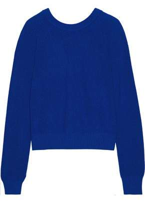 Proenza Schouler Ribbed-Knit Cashmere And Cotton-Blend Top