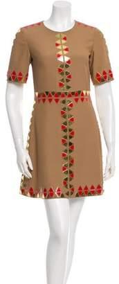 Dodo Bar Or Embellished A-Line Dress w/ Tags