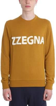 Ermenegildo Zegna Camel Cotton Sweatshirt