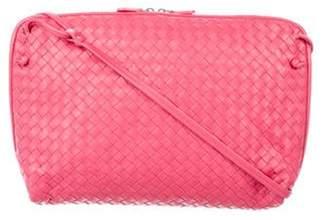 Bottega Veneta Intrecciato Zip Crossbody Bag Intrecciato Zip Crossbody Bag