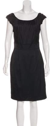 Laila Azhar Sleeveless Knee-Length Dress