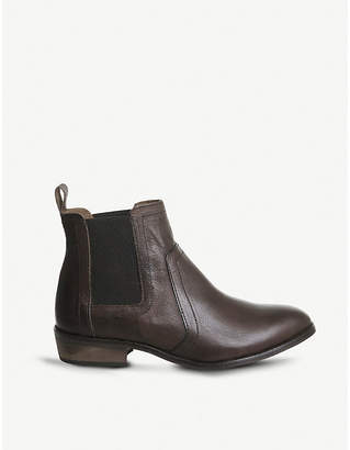 Office Addison leather Chelsea boots