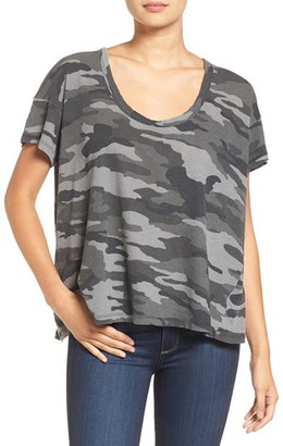 Women's Current/elliott The Slouchy Scoop Tee $128 thestylecure.com