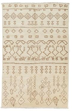 Moroccan Area Rug, 9'3 x 6′