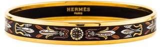 Hermes White Torana 2 Bangle