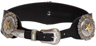 Kate Cate 70mm High Waist Regina Leather Belt