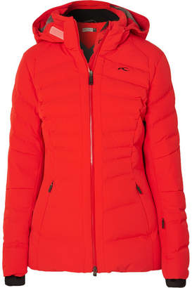 164a00199224c Kjus - Duana Quilted Down Ski Jacket - Red