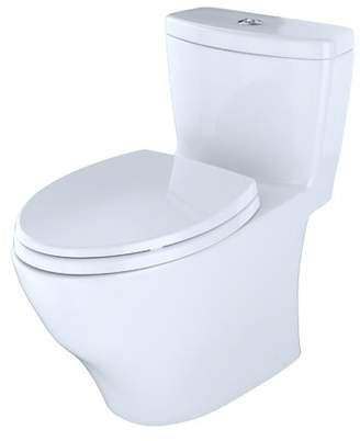 Toto Aquia Dual Flush Elongated One-Piece Toilet