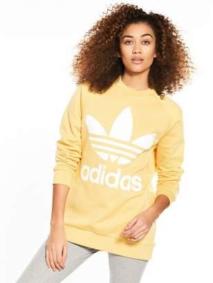 adidas adicolor Oversized Sweater - Sand