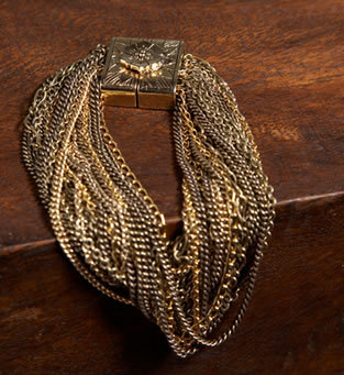 M+O Magnetic Chain Bracelet