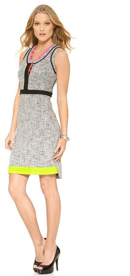 T Tahari Dress, Jessie Sleeveless Tweed Sheath