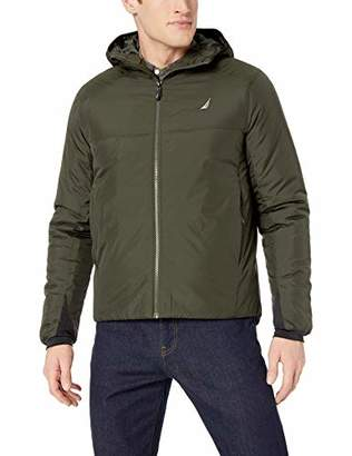 Nautica Men's Poly Ripstop Transitional Weight Jacket