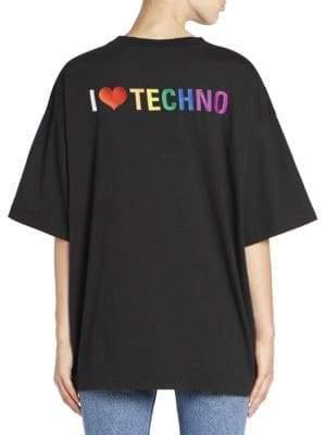 Balenciaga I Heart Techno Tee