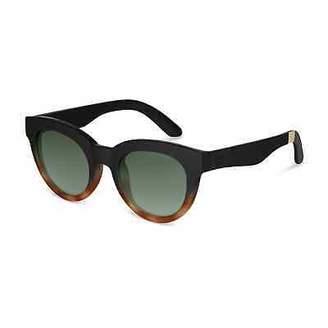 Toms Kathmandu Traveler by 100% UV protection Florentin Black Honey Sunglasses