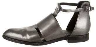 Alexander Wang Leather Cutout Sandals
