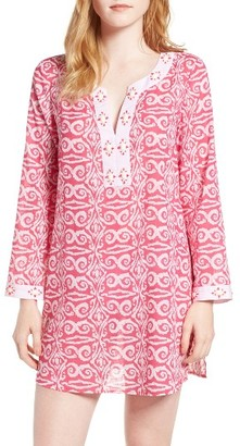 Women's Vineyard Vines Salt Island Beaded Cover-Up Dress $128 thestylecure.com