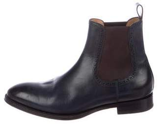 Di Bianco Leather Chelsea Boots