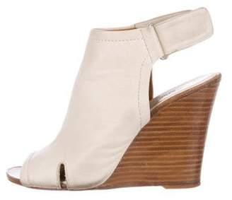 Rag & Bone Ankle Strap Leather Wedges