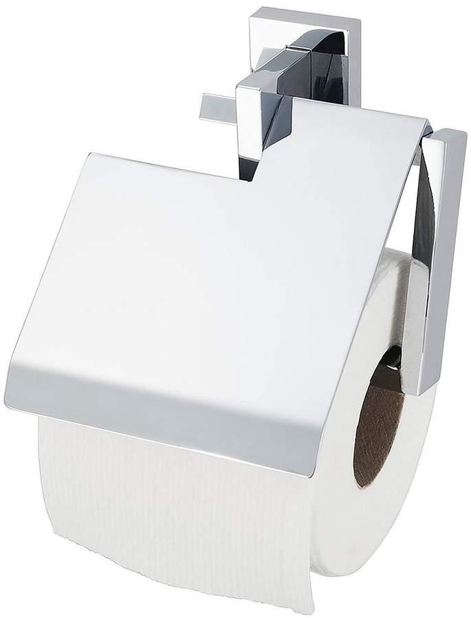 Haceka Edge Toilet Roll Holder With Lid