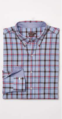 J.Mclaughlin Westend Modern Fit Shirt in Window Pane