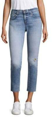 Rag & Bone Dre Ankle Medium-Wash Skinny Jeans