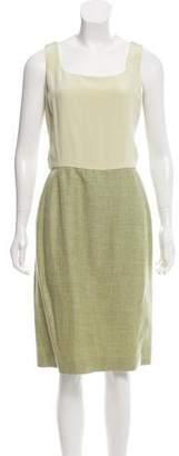 Oscar de la Renta Midi Sheath Dress